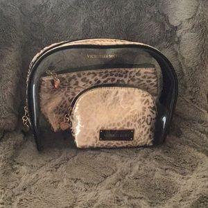 VS cosmetic bag makeup travel set